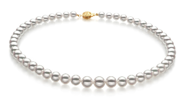 View Collier Akoya japonais blanc collection